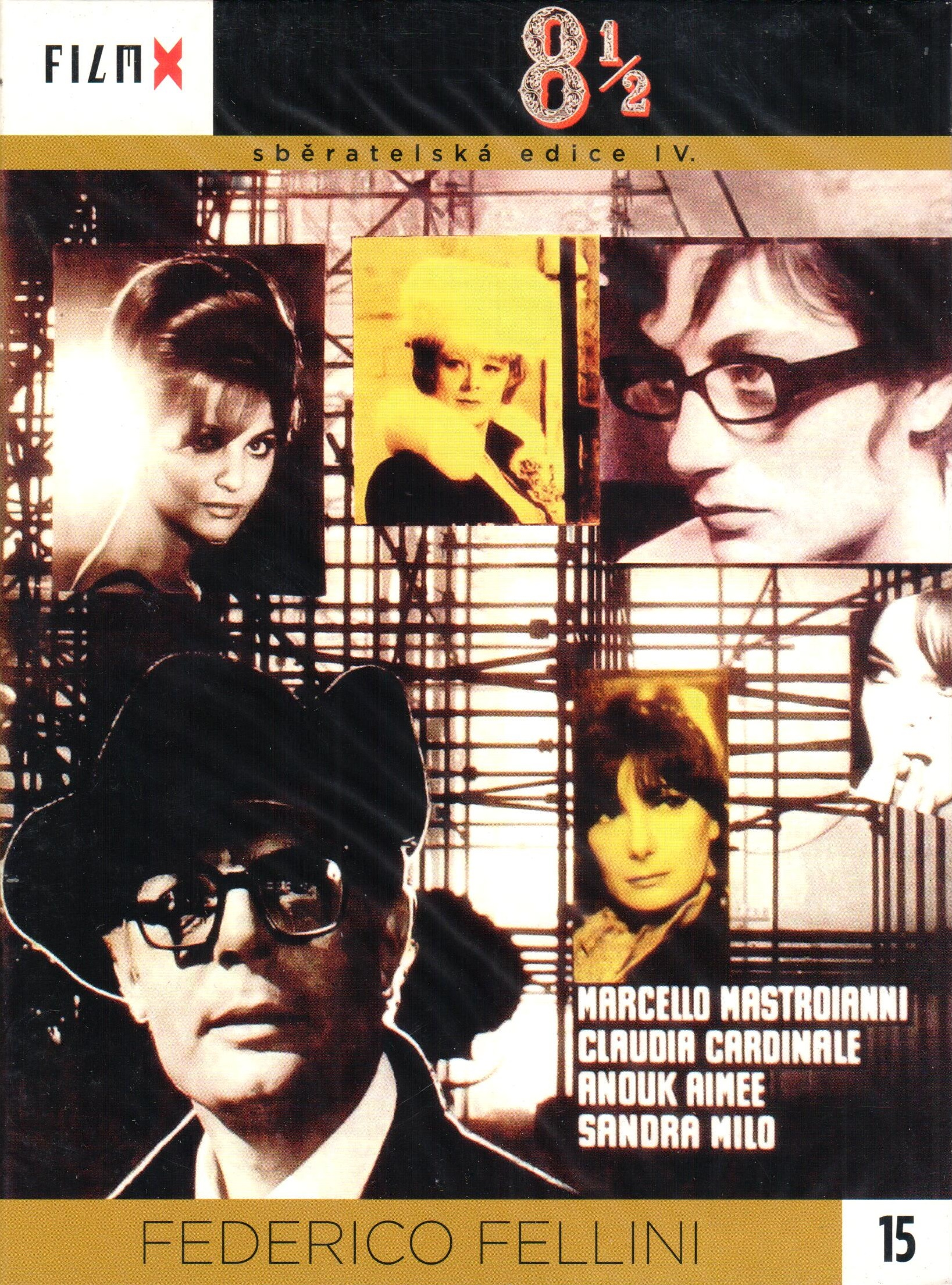 8 1/2 - sběratelská edice IV. - DVD
