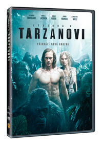 Legenda o Tarzanovi - DVD plast