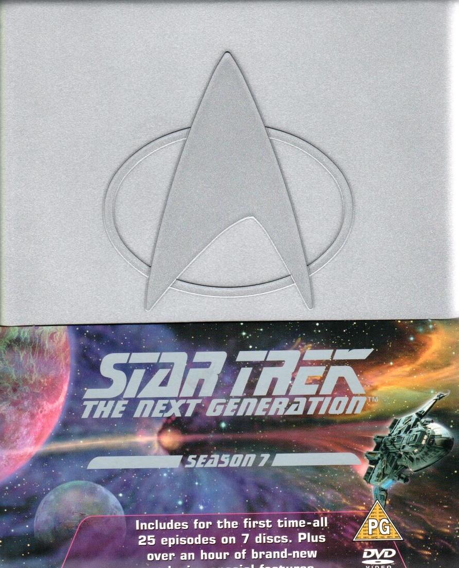 Star Trek: The Next Generation - Season 7 (není v CZ) - DVD