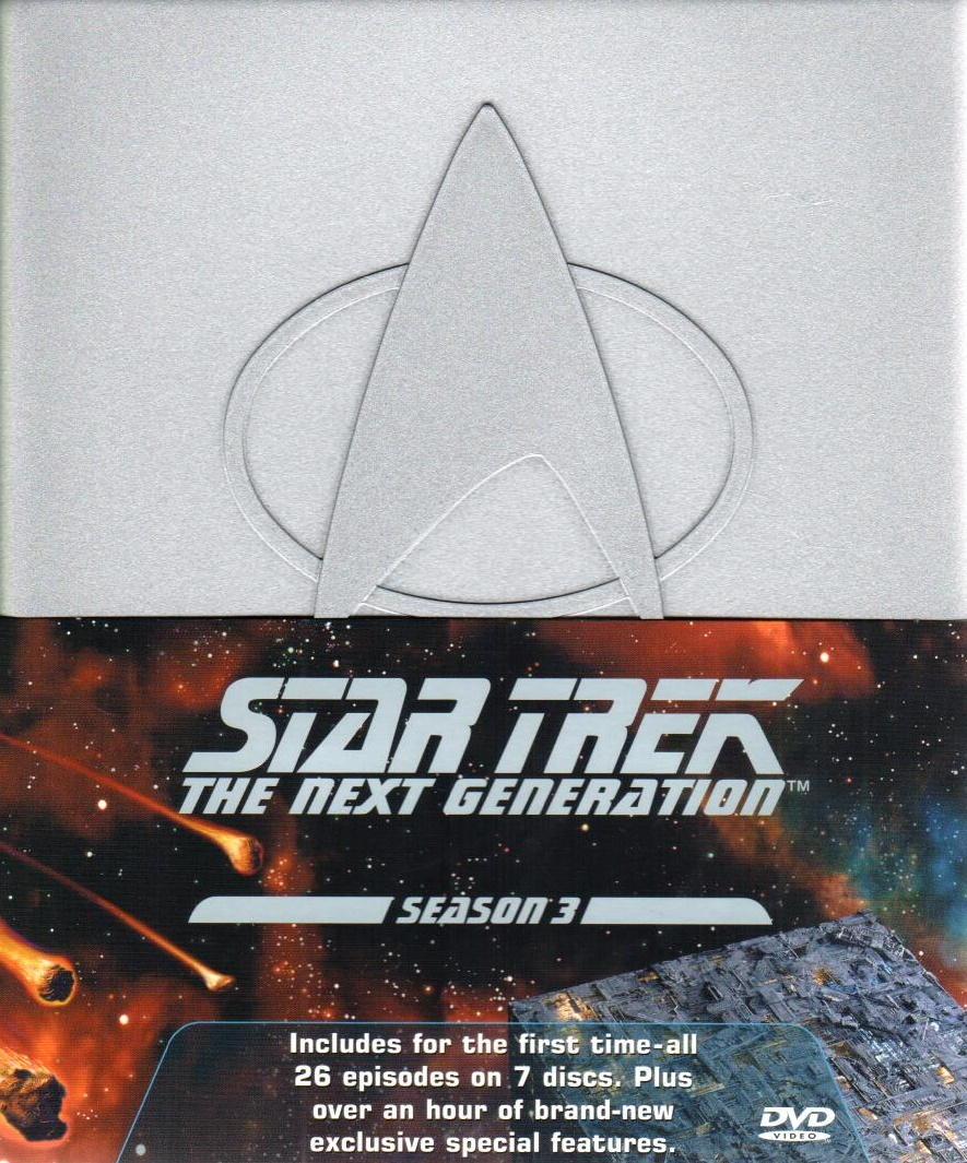 Star Trek: The Next Generation - Season 3 (není v CZ) - DVD