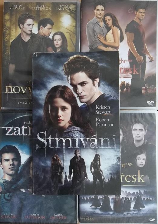 Kolekce: Twilight / Stmívání (5DVD)