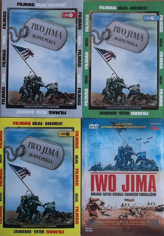 Kolekce Iwo Jima 4DVD