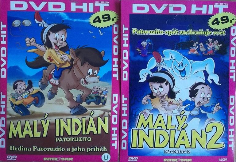 Kolekce Malý Indián 2DVD