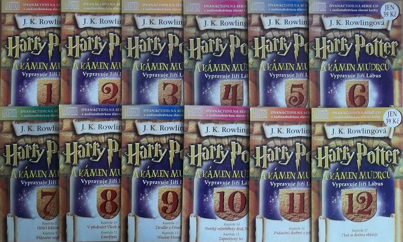 Kolekce mluvený Harry Potter 12CD