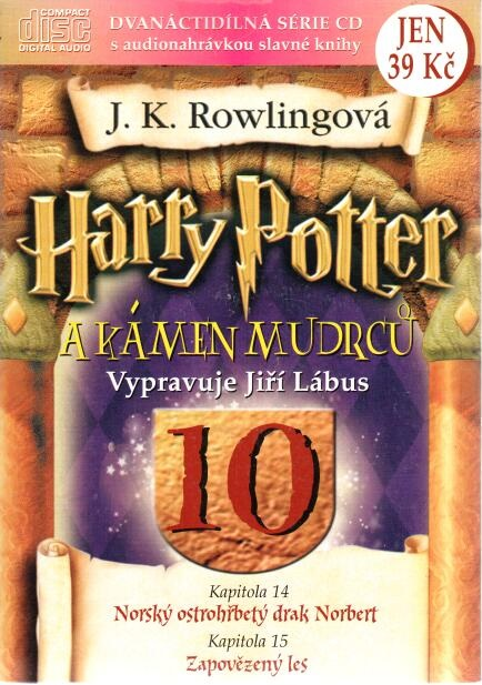 Harry Potter a kámen mudrců 10. - CD