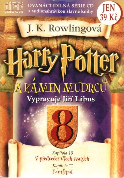 Harry Potter a Kámen mudrců 8. - CD