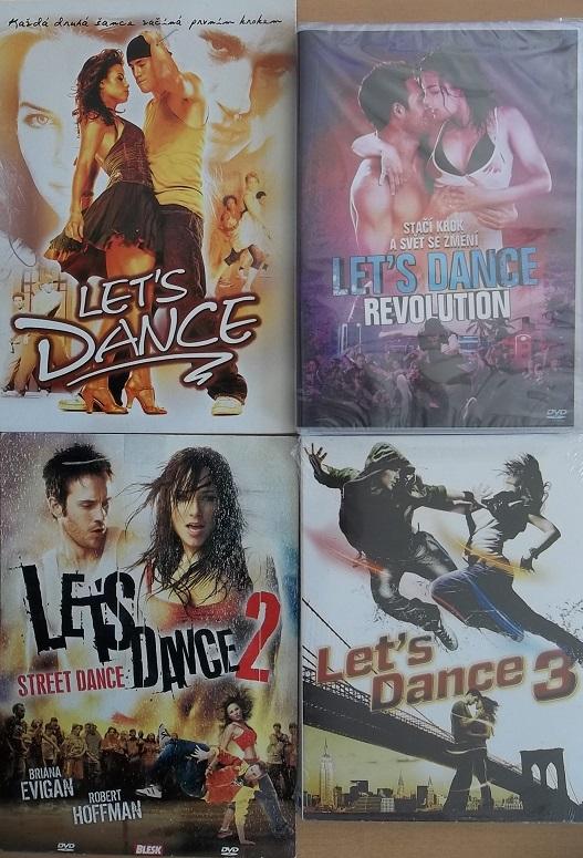 Kolekce Let´s dance  4 DVD