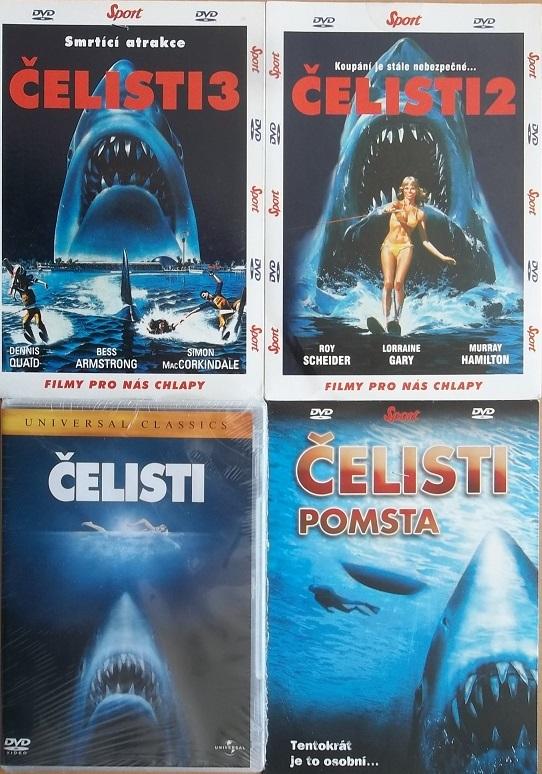 Kolekce Čelisti 4 DVD