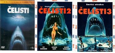 Kolekce Čelisti 3 DVD ( nekompletní )