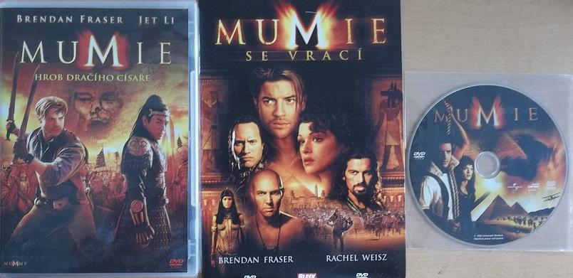 Kolekce Mumie 3DVD