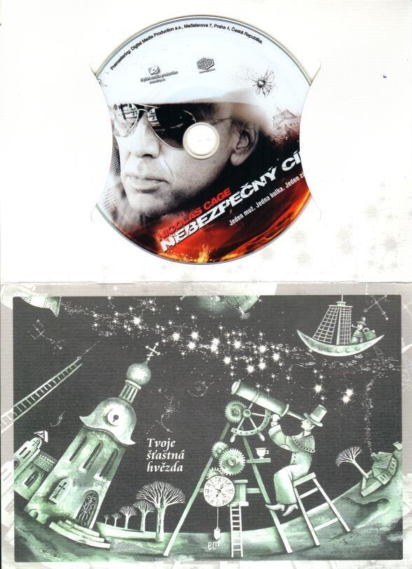 Nebezpečný cíl - dárkový obal - DVD