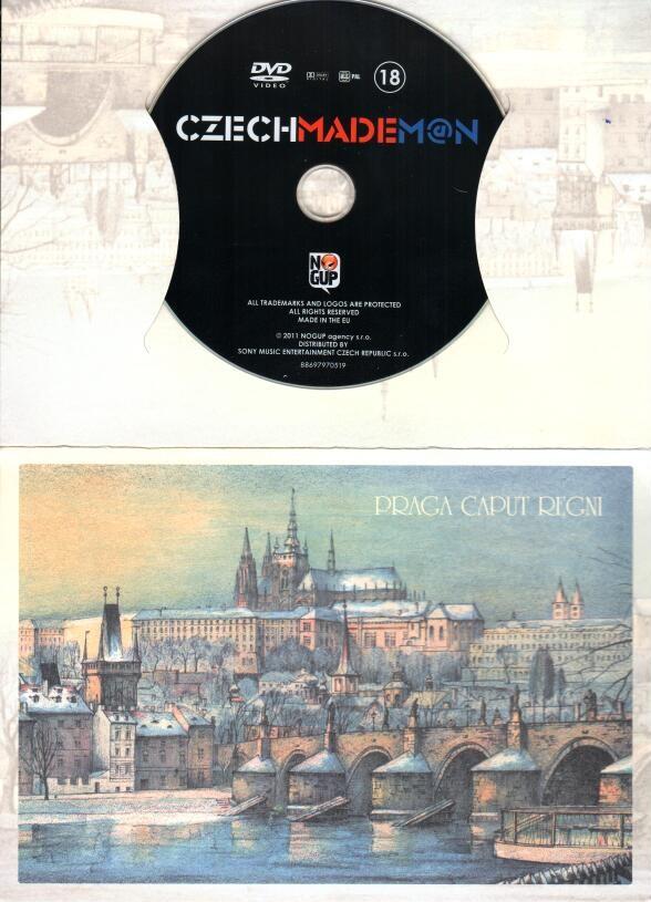 Czech Made Man - dárkový obal - DVD
