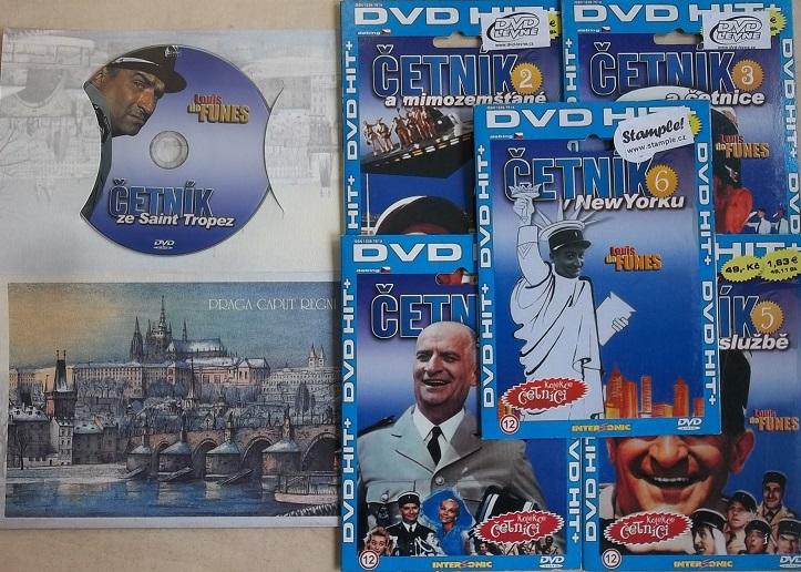 Kolekce Četník 6DVD ( samostatné disky )