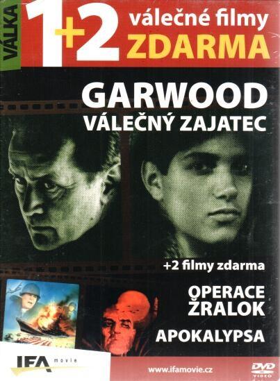 Garwood Válečný zajatec + Operace Žralok + Apokalypsa - DVD