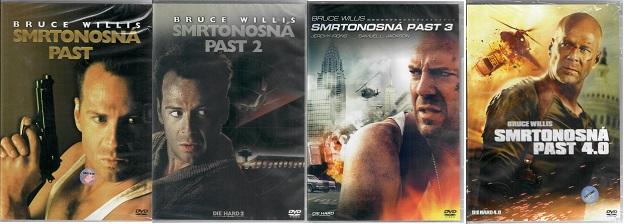 Kolekce Smrtonosná past 4x DVD