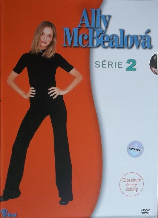 Kolekce Ally McBealová 2.série 6DVD