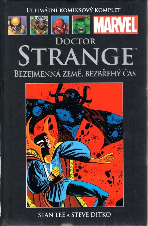 Ultimátní komiksový komplet 87 - Doctor Strange - Bezejmenná země, bezbřehý čas