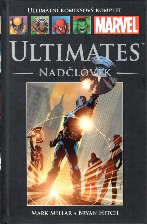 Ultimátní komiksový komplet - Ultimates Nadčlověk (16) - hřbet č. 16