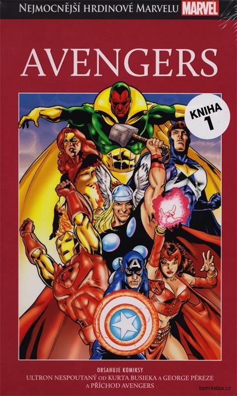 Nejmocnější hrdinové Marvelu - Avengers (hřbet 1)
