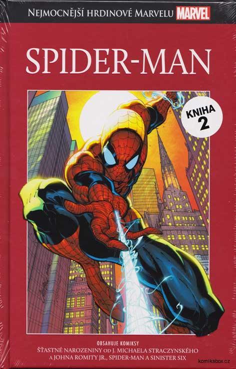 Nejmocnější hrdinové Marvelu - Spider-Man (hřbet2)