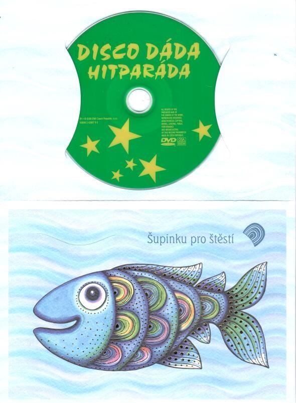 Dáda Patrasová - Disco Dáda Hitparáda (dárkový obal)