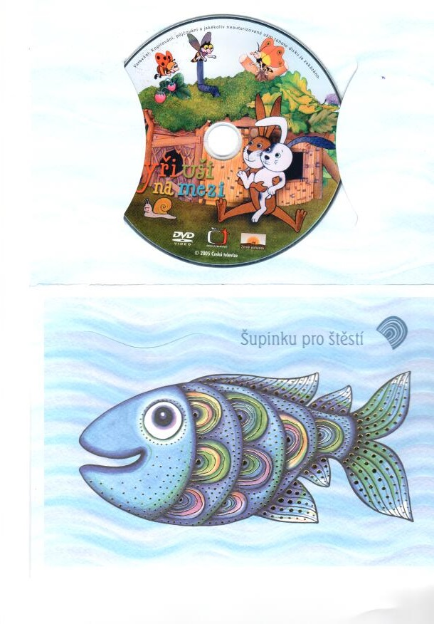 Čtyři uši na mezi - dárkový obal - DVD