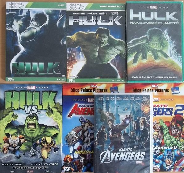 Kolekce Hulk 7DVD