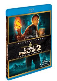 Lovci pokladů: Kniha tajemství (Blu-ray)