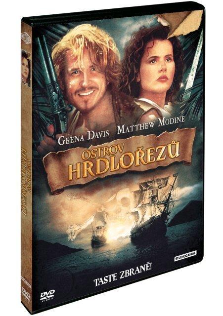 Ostrov hrdlořezů DVD