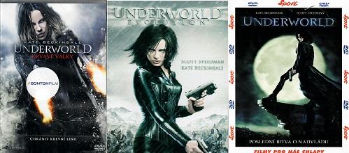 Kolekce Underworld 3 DVD ( nekompletní )