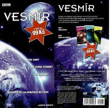 Vesmír - komplet 3 DVD