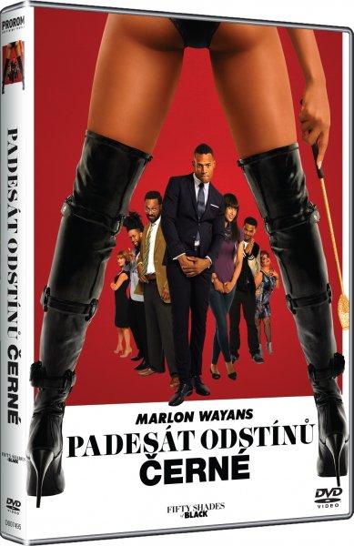 Padesát odstínů černé - DVD
