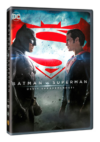 Batman vs. Superman: Úsvit spravedlnosti DVD plast