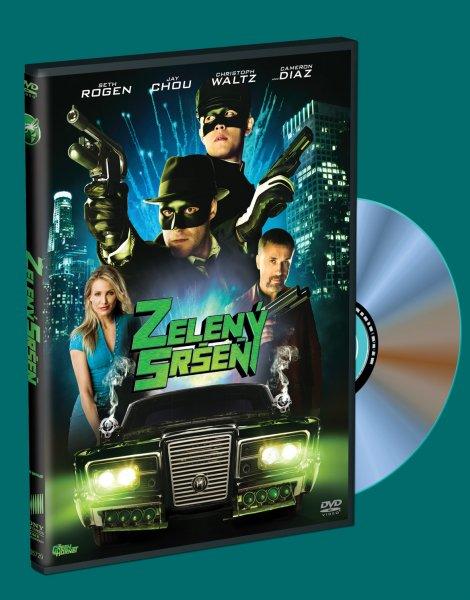 Zelený sršeň DVD