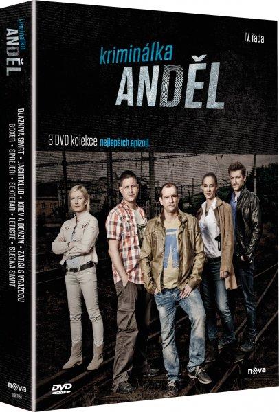 3 DVD Kriminálka Anděl IV. řada DVD