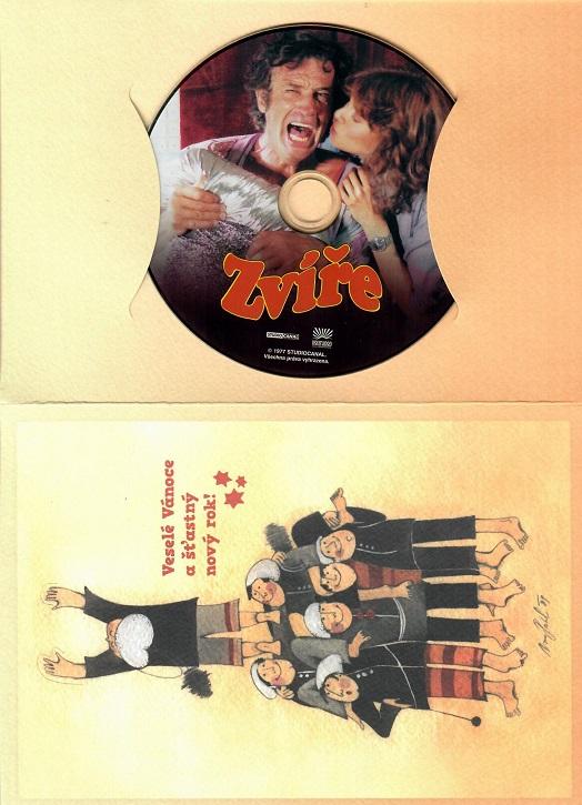 Zvíře ( dárkový papír obal ) - DVD