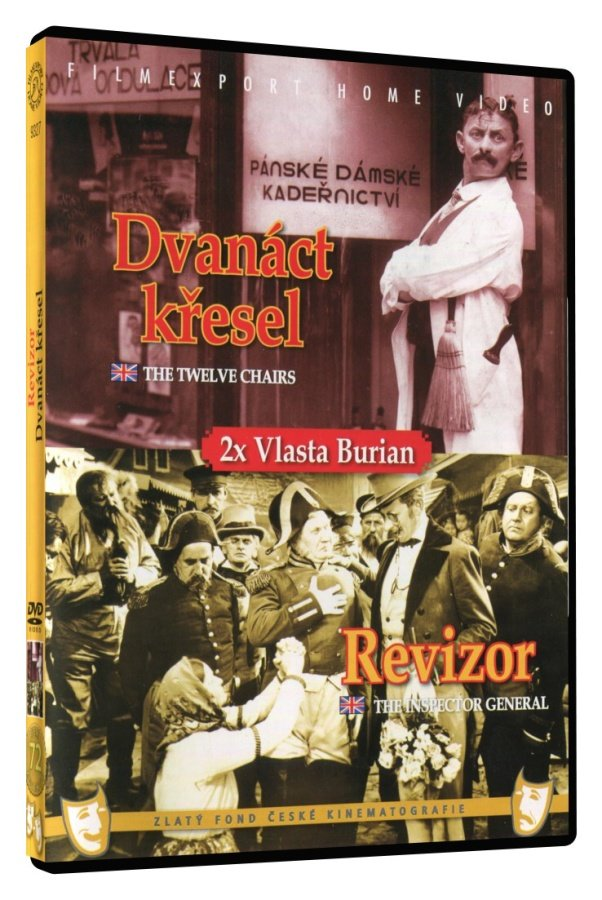 Revizor / Dvanáct křesel - DVD box