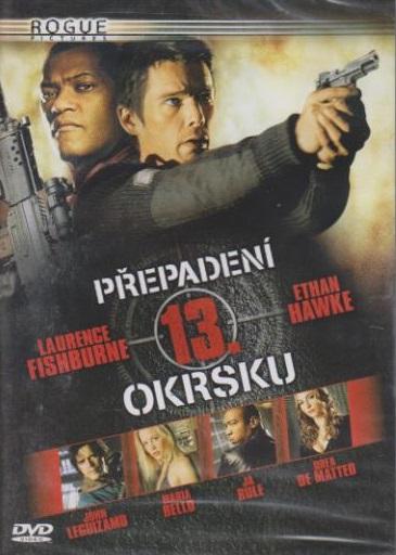 Přepadení 13. okrsku - DVD plast