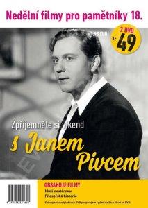 Nedělní filmy pro pamětníky 18: Jan Pivec 2 DVD pošetka