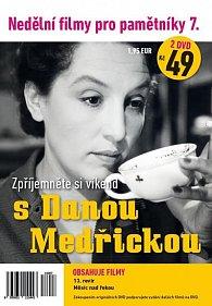 Nedělní filmy pro pamětníky 7: Dana Medřická - 2x DVD