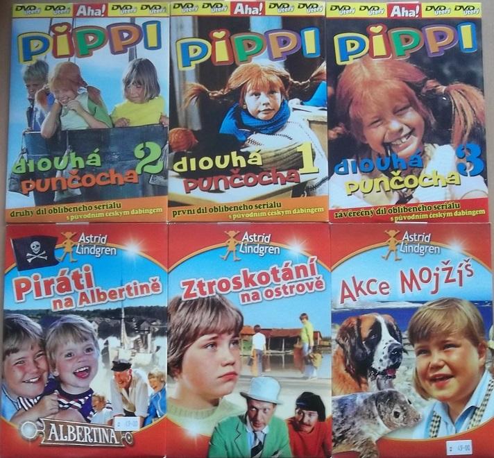 Kolekce Astrid Lindgren 6DVD