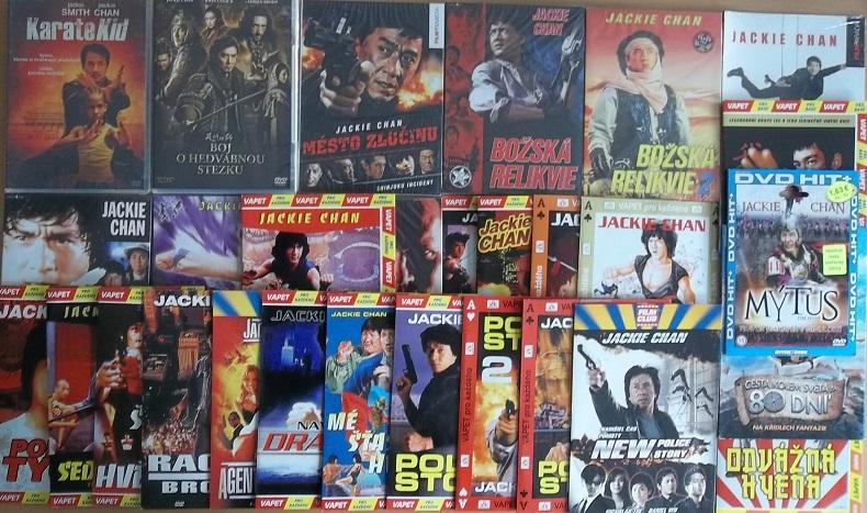 Kolekce Jackie Chan 27 DVD