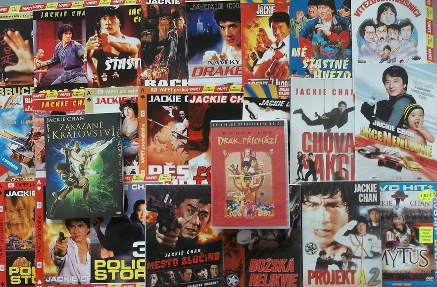 Kolekce Jackie Chan 25x DVD