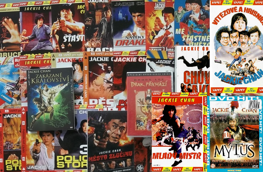 Kolekce Jackie Chan 23x DVD