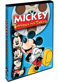 Mickey: Továrna na smích -  DVD plast