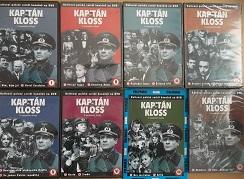 Kolekce Kapitán Kloss 8DVD ( nekompletní )