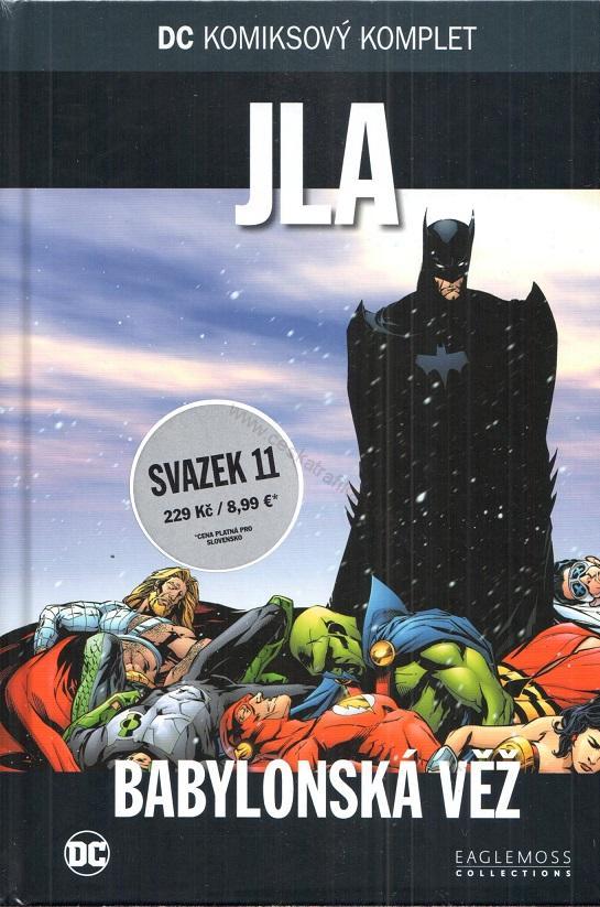 DC Komiksový komplet JLA - Babylonská věž