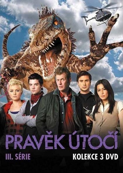 Pravěk útočí 3. série Kolekce 3DVD