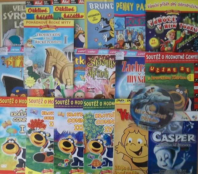 Kolekce Animák 20DVD