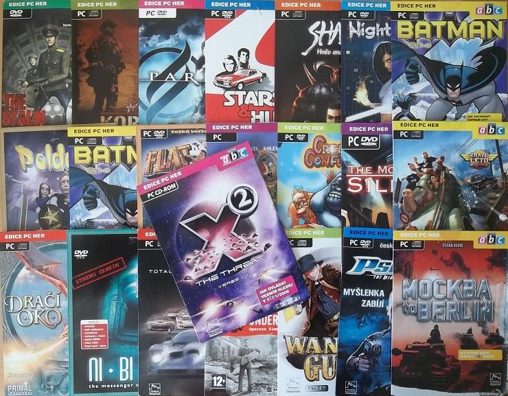 Kolekce PC hry 21CD-Rom